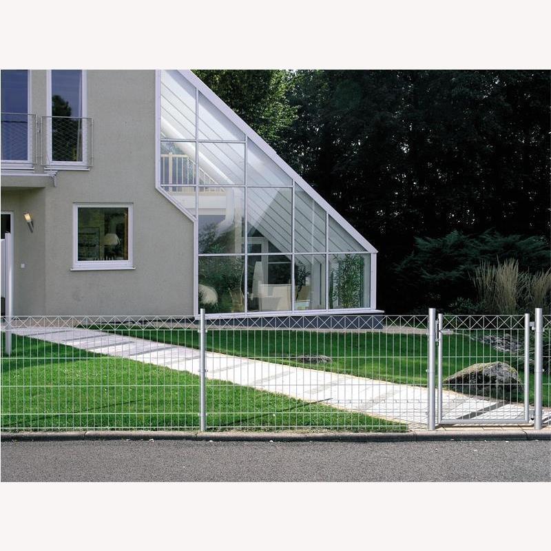 10 meter komplett set zaun nexus 432 90. Black Bedroom Furniture Sets. Home Design Ideas