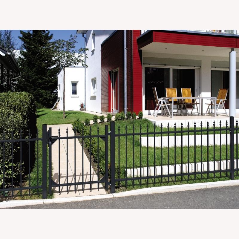 tore f r aluminium zaun chaussee 307 80. Black Bedroom Furniture Sets. Home Design Ideas