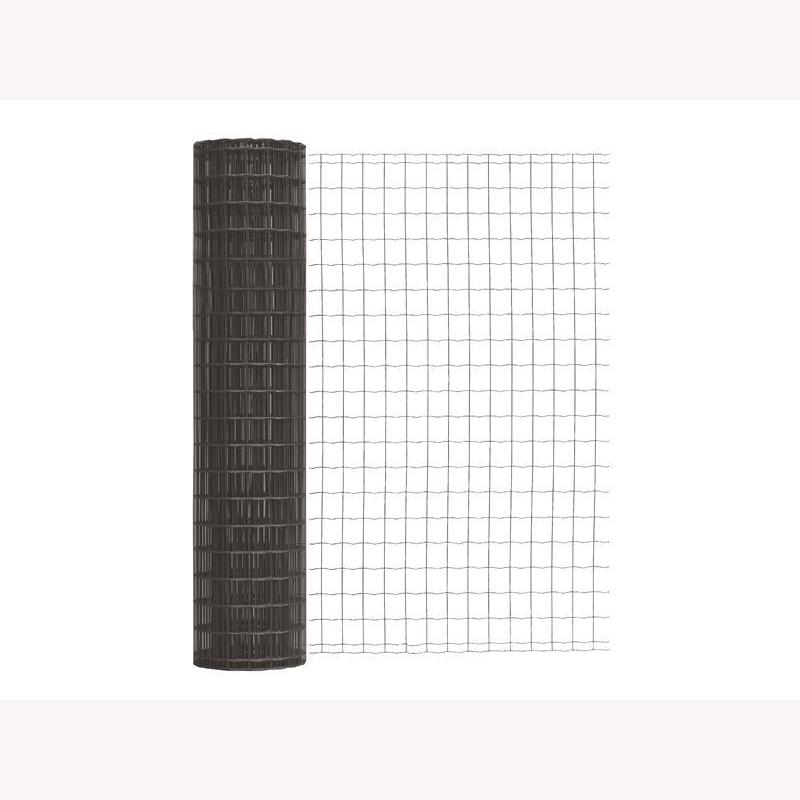 fix clip pro set zum einbetonieren 100cm 50m anthrazit metallic 484. Black Bedroom Furniture Sets. Home Design Ideas