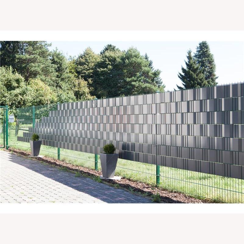 pvc sichtschutz silber ral 9006 35 m rolle 65 00. Black Bedroom Furniture Sets. Home Design Ideas