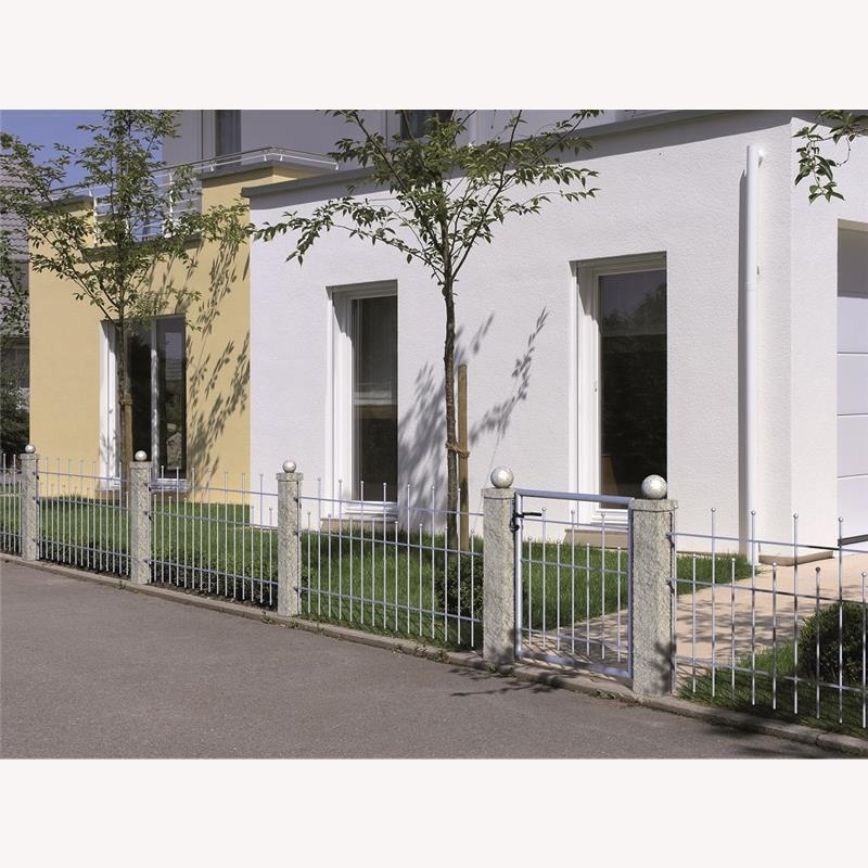 10 meter komplett set zaun madrid 662 40. Black Bedroom Furniture Sets. Home Design Ideas
