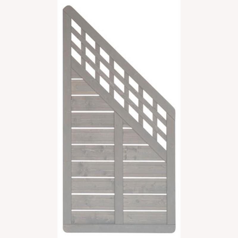 elsass aus fichtenholz anschlusselement 180 x 95 cm tabak 115 20. Black Bedroom Furniture Sets. Home Design Ideas