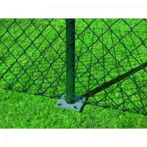 Maschendrahtzaun-Set mit Bodenhülsen grün günstig, 229,00 €