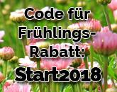 Frühlings-Rabatt sichern und sparen