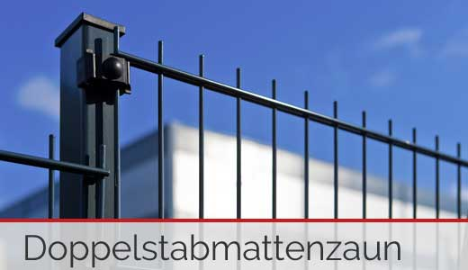 Doppelstabmattenzaun - zaun-frachtfrei.de